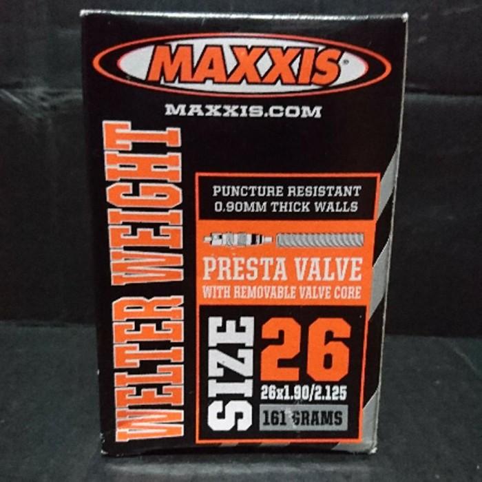 harga Asksesoris sepeda. ban dalam maxxis 26 x 190 Tokopedia.com