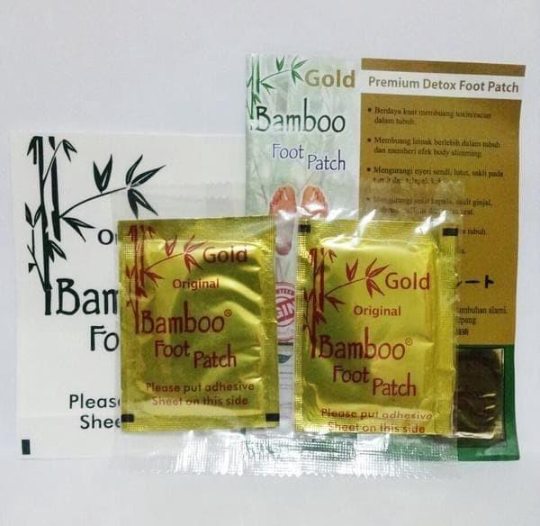 Koyo Penyerap Racun Tubuh - Detox Foot Patch Gold Original Bamboo