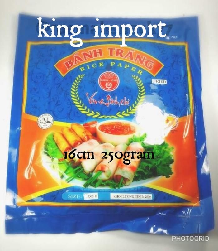 harga Kulit lumpia asli vietnam 16cm rice paper Tokopedia.com