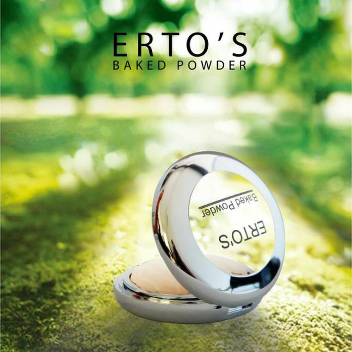 harga Ertos baked powder bedak compact makeup wajah - skincare original bpom Tokopedia.com