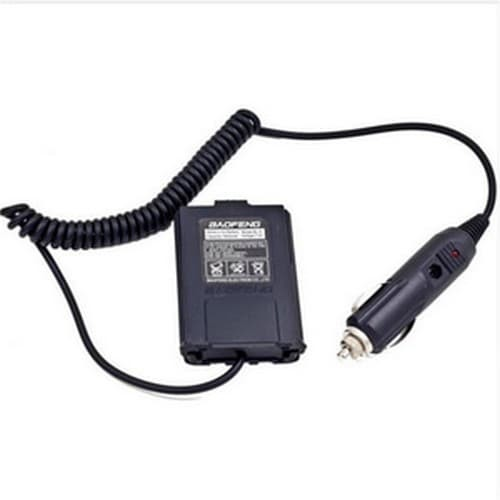 Baofeng Walkie Talkie Car Charger Adapter for BF-UV5R BF-UV5RE Plus BF