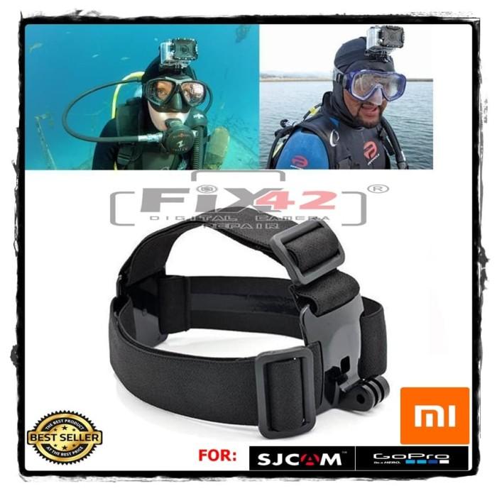 harga Head strap adjustable for gopro xiaomi yi sjcam brica etc. Tokopedia.com