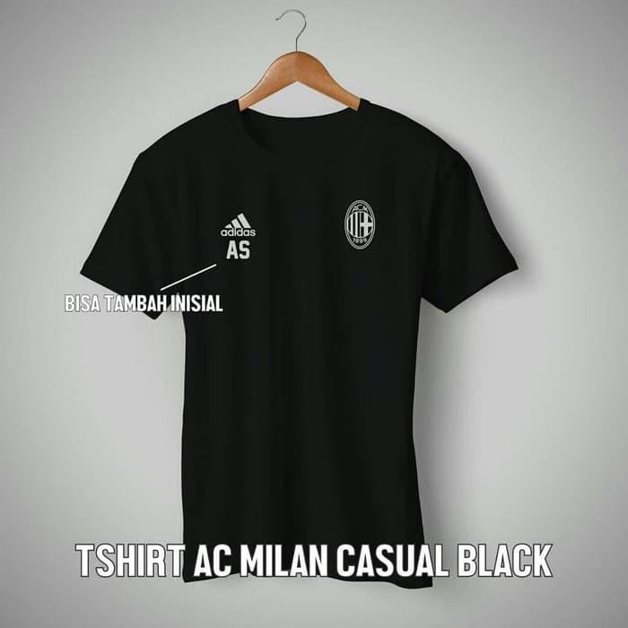 harga Kaos tshirt baju combed 30s distro ac milan milanisti jersey futsal Tokopedia.com