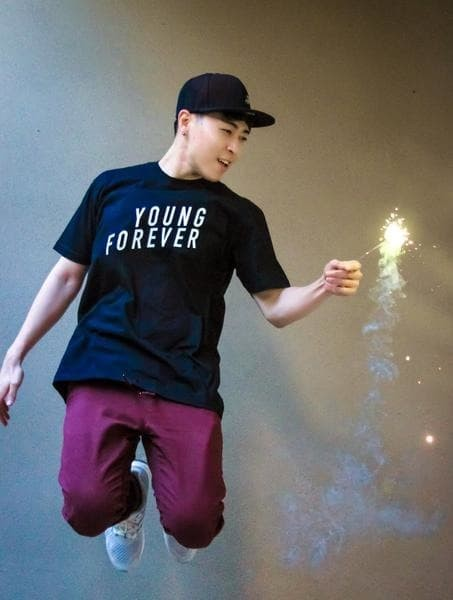 harga Kaos tshirt baju combed 30s distro kpop exo young forever korea pop Tokopedia.com