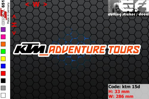 harga Ea cutting sticker / decal    code: ktm 15d ( sponsor logo ) Tokopedia.com