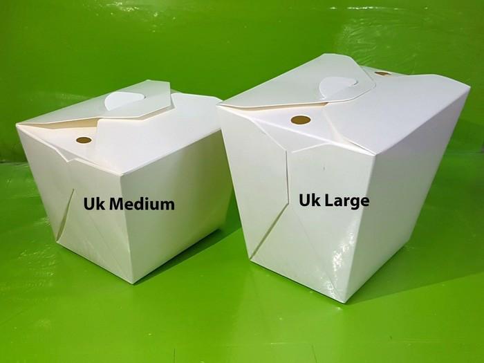 harga Paper rice box ukuran l isi 25 / kotak nasi kertas Tokopedia.com