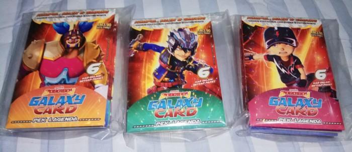 Jual Boboiboy Galaxy Card Set Pek Lagenda 36 Cards Kota Tangerang Selatan Cover Namisya Tokopedia