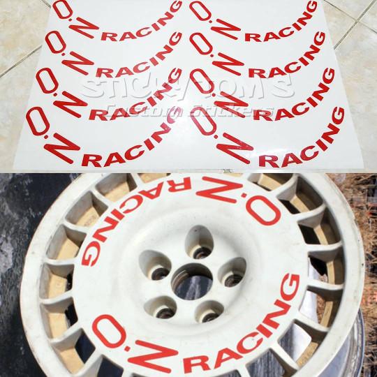 harga Stiker velg mobil oz racing untuk oz rally (piring) Tokopedia.com