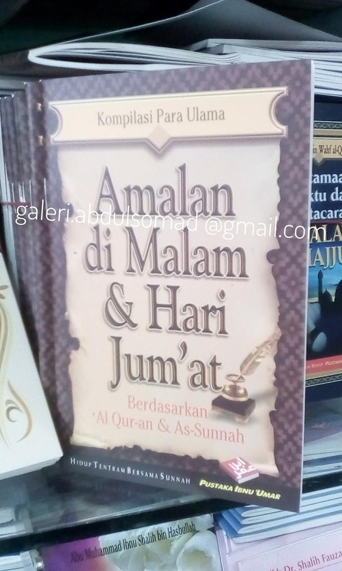 Jual Buku Saku Amalan Di Malam Dan Hari Jum'at Kota Bekasi Galeri Abdul Somad SJ