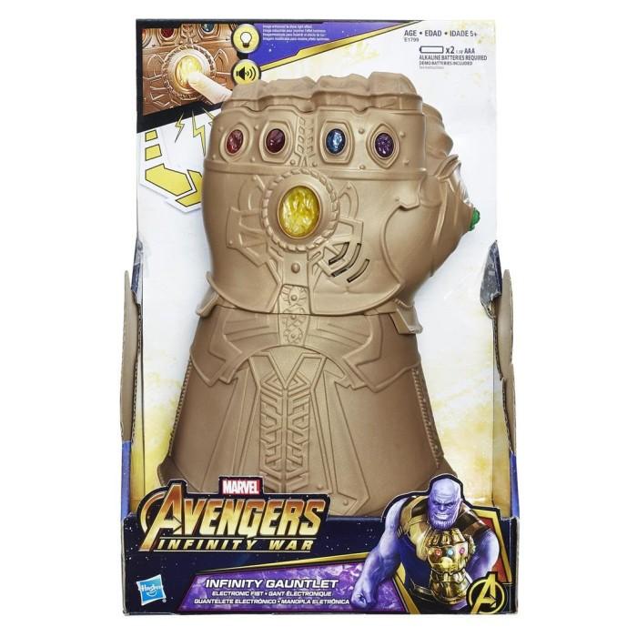 harga Marvel avengers infinity war infinity gauntlet electronic fist hasbro Tokopedia.com