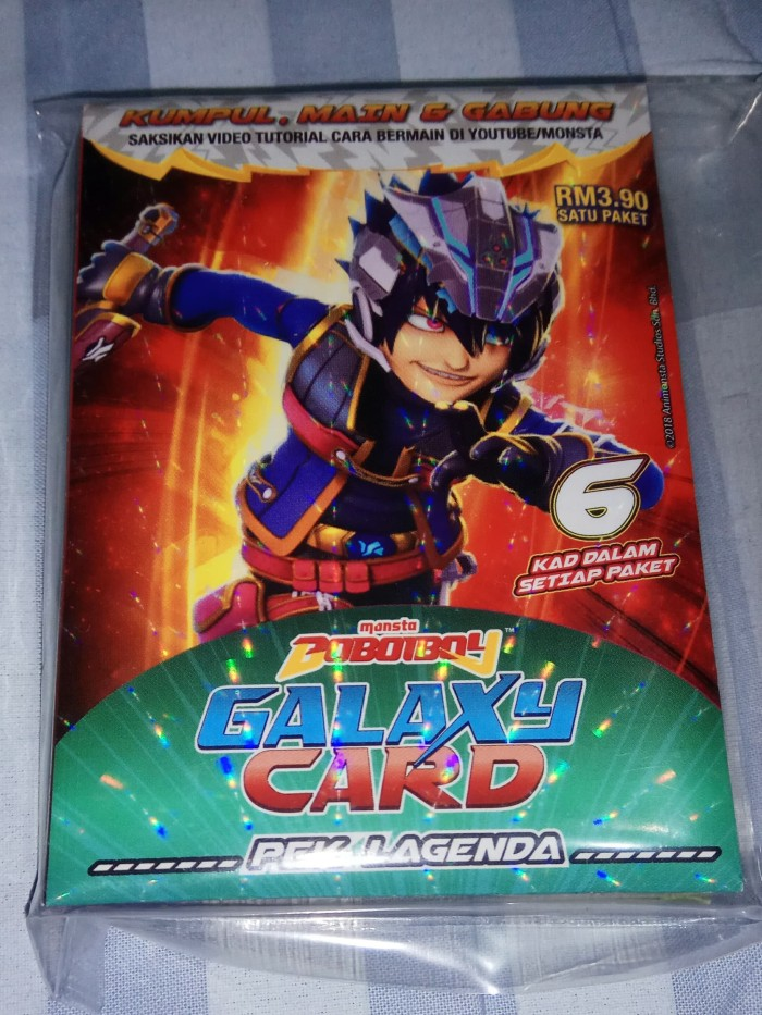 Jual Boboiboy Galaxy Card Set Pek Lagenda 36 Cards Cover Namisya