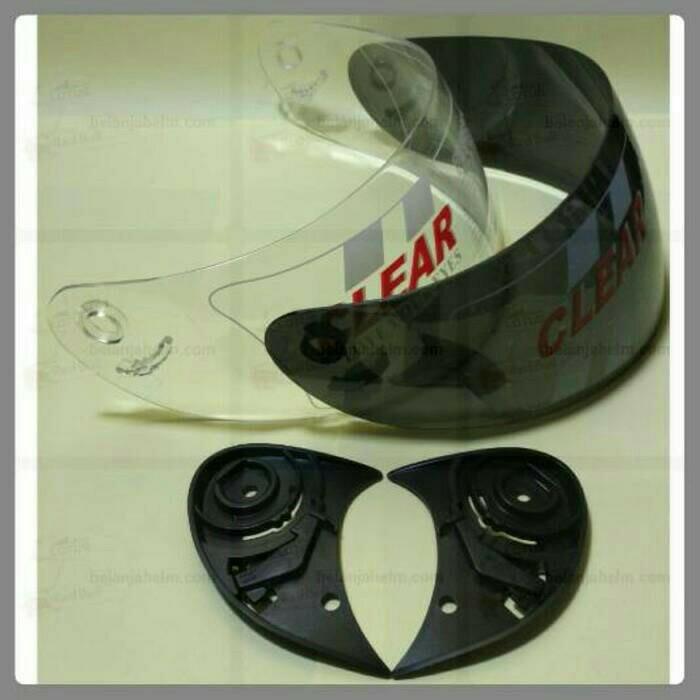 harga Kaca helm / visor bmc blade 200, kawasaki ninja 250fi, honda trxr(p-h Tokopedia.com
