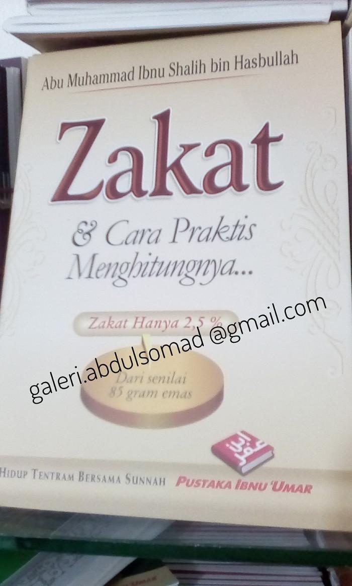 Jual Buku Saku Zakat & Cara Praktis Menghitungnya Kota Bekasi Galeri Abdul Somad SJ