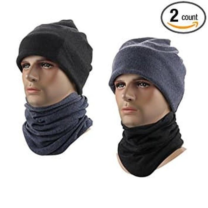 "Foto Produk Masker Polar Beanie Hat Multifungsi ""neck masker"" - Abu Abu, All Size dari TheTrip Buff"