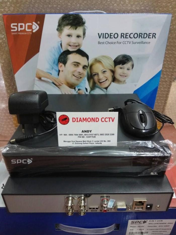 Foto Produk PROMO DVR 4 CH SPC FULL HD 1080P 5 In 1 Analog AHD HDTVI HDCVI DAN IP dari DIAMOND CCTV