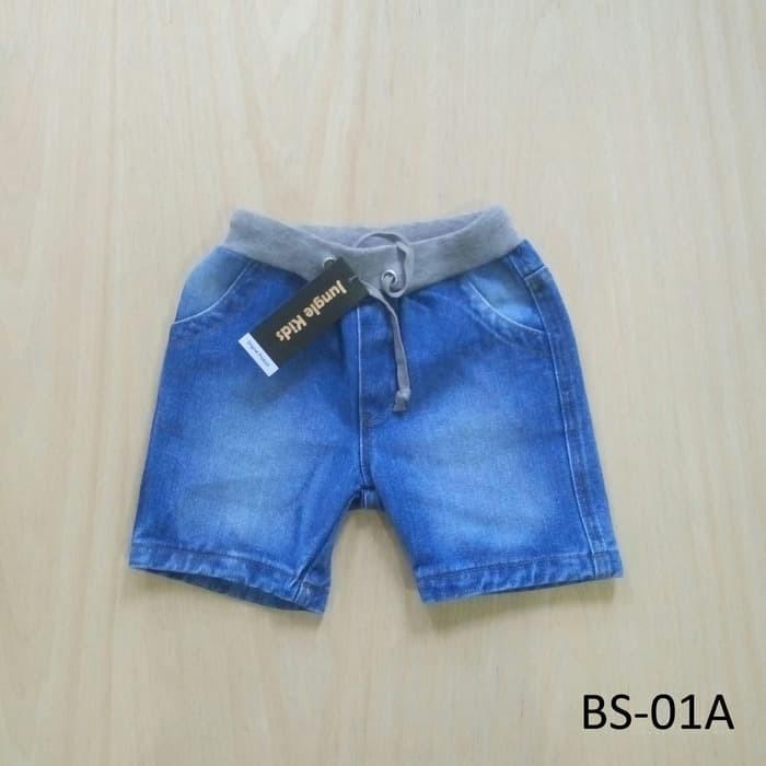 harga Celana hot pants anak laki-laki/ jeans biru muda casual premium bs-01a Tokopedia.com
