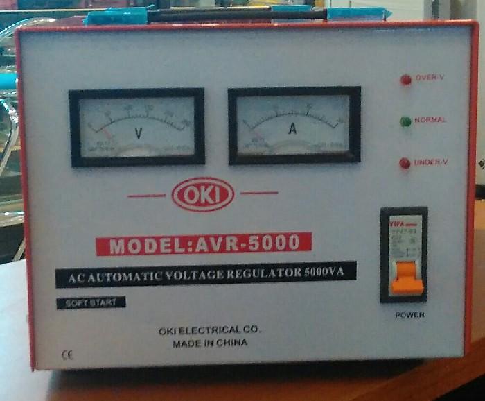 harga Stabilizer regulator listrik oki 5000 watt stabiliser Tokopedia.com