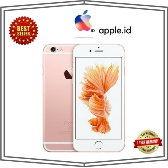 harga [hot price] iphone 6s 16gb rosegold garansi internasional 1 tahun Tokopedia.com