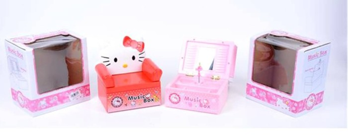 harga Music box hello kitty bentuk sofa - box musik hk - kotak musik hk Tokopedia.com