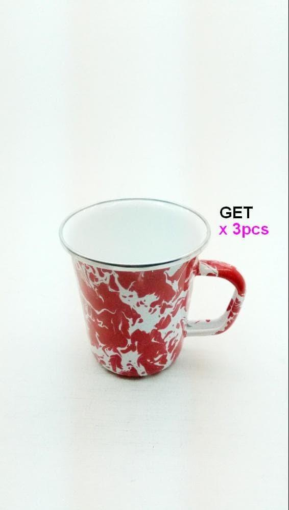 harga Kedaung mug hne10740, ki-latte doreng red Tokopedia.com