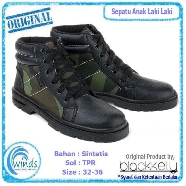 harga Sepatu anak laki laki boots murah army motif tentara cowok lds129 Tokopedia.com