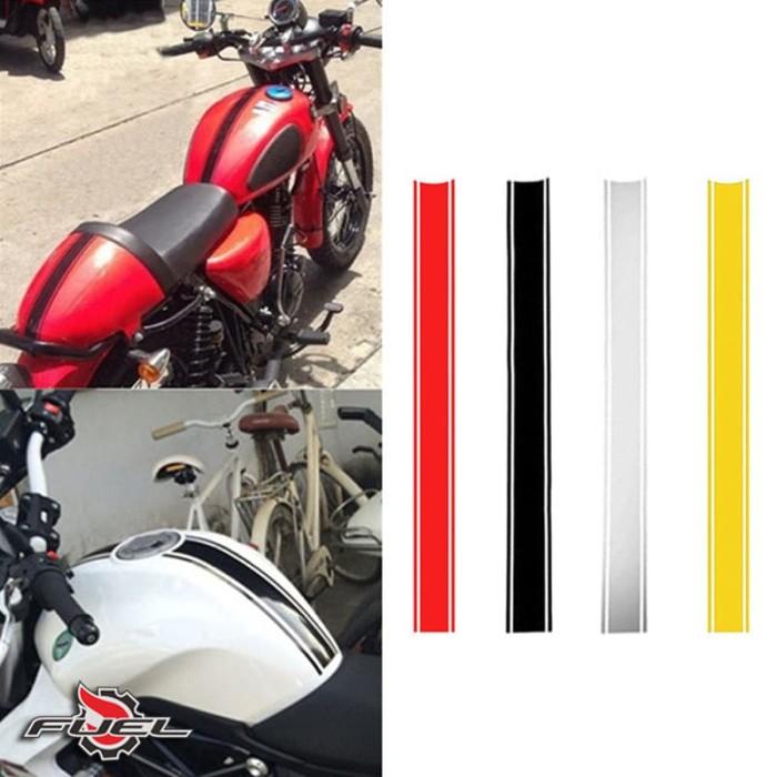 harga Sticker stripes stripping japstyle scrambler harley triump bmw cb gsx Tokopedia.com