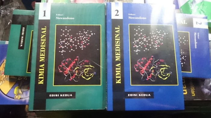 harga Kimia medisinal buku 1 dan 2 set Tokopedia.com