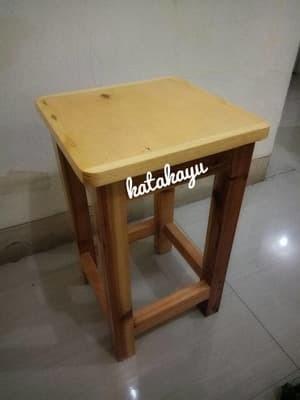 harga Kursi kayu / kursi makan / kursi duduk / kursi cafe serbaguna Tokopedia.com