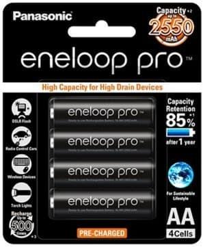 Baterai Isi Ulang Rechargeable Panasonic Eneloop Pro Aa A2 2550mah -  Blanja.com 863c0b71dd