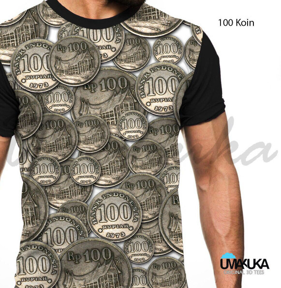 harga Baju / tshirt / kaos 3d uang unik / jaket / original Tokopedia.com