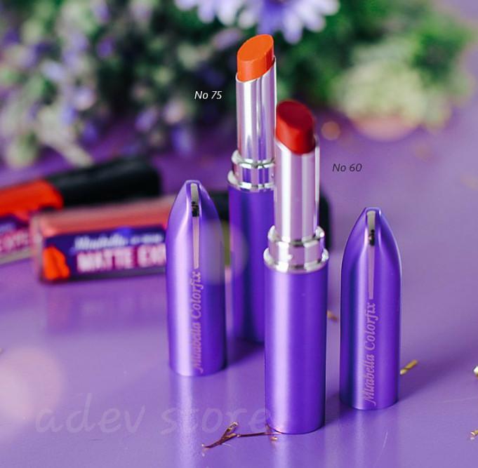Katalog Lipstik Mirabella Colorfix Travelbon.com