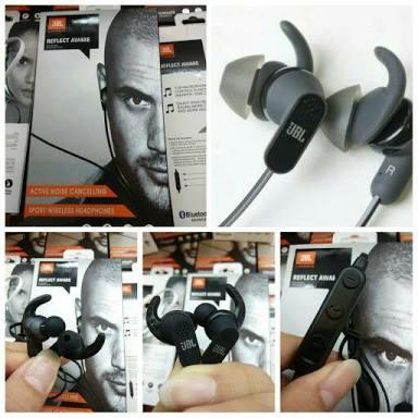 harga Headseat handsfree bluetooth stereo jbl reflect aware bt sport Tokopedia.com