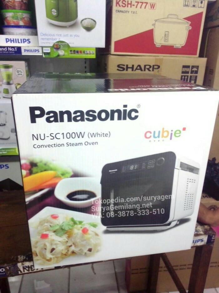 harga Panasonic cubie nusc100 air fryer convection microwave asli dan baru Tokopedia.com