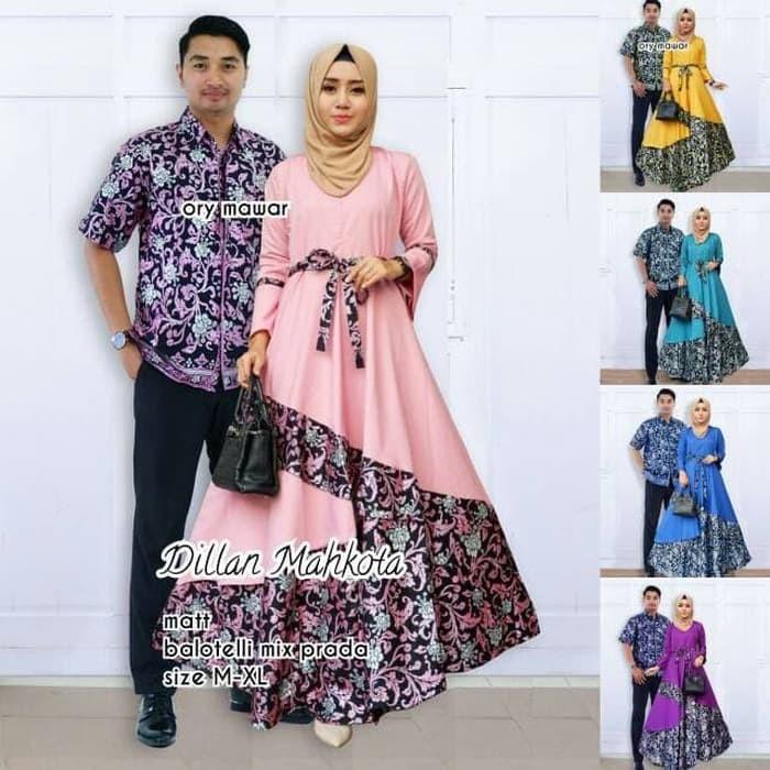 Jual batik couple dillan mahkota - TERMURAH - Agen Batik Solo ... 83ec6d1131