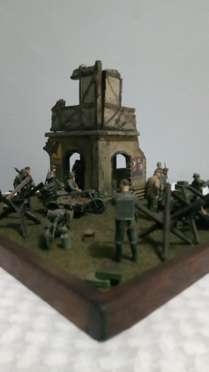 Jual DIORAMA TENTARA NAZI GERMAN DI PERANG DUNIA 2 MODEL KIT Kota Tangerang Selatan Andystoysandcollectibles