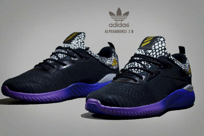 308b30875 Jual FREE BONUS !!! Sepatu Adidas Alphabounce 2.0 Import Men - Black ...