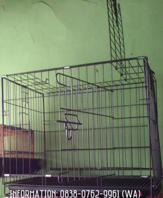 harga Kandang besi lipat u/ kucing anjing kelinci dll (p60xl425xt515cm) Tokopedia.com