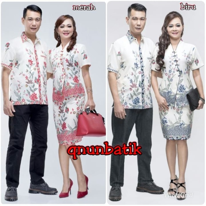 harga Sarimbit couple batik jumbo xxl rok n blus naomi kupu Tokopedia.com