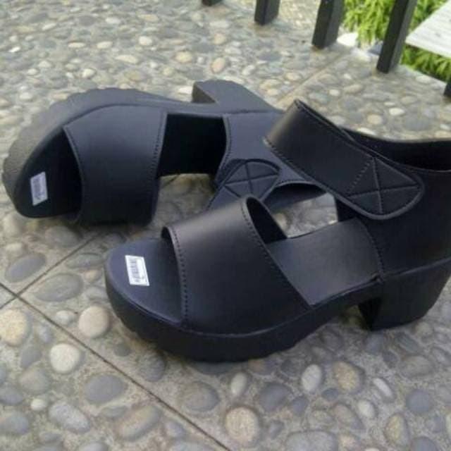 harga Grosir lilyshoes sepatu sandal heel boot doctmart platform simple Tokopedia.com