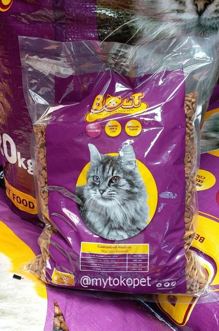 Jual Bolt 1kg Makanan Kucing Bolt Re Pack Jakarta Utara Mytokopet Tokopedia