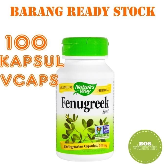 Vegetarian Capsules. By Nature's Way. Source · Nature's Way Fenugreek 610 .