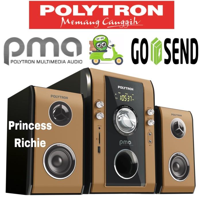 harga Speaker polytron pma 9503 karaoke-bluetooth-usb-fm radio Tokopedia.com