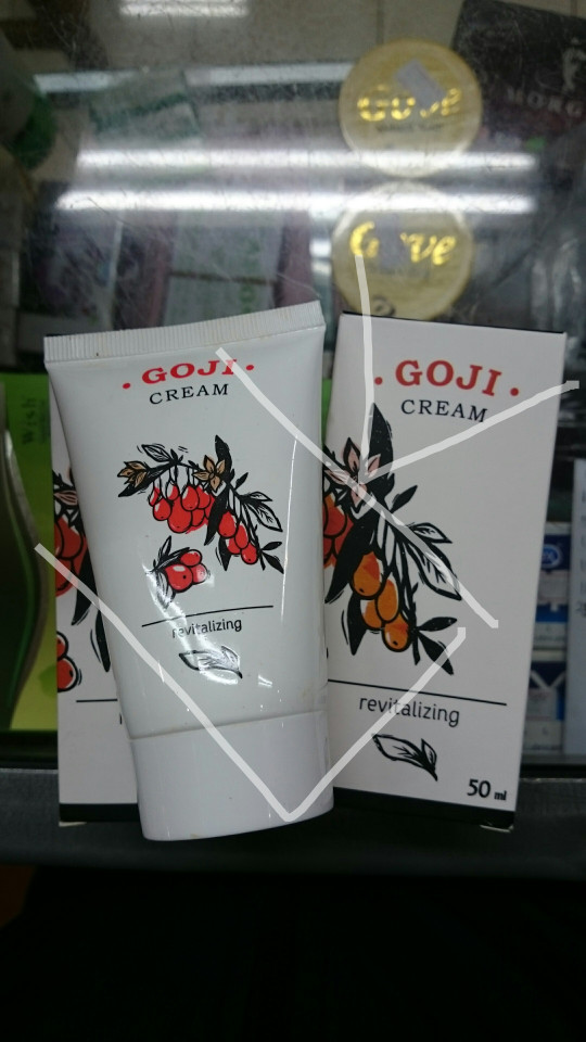 harga Goji cream anti aging dari hendel Tokopedia.com