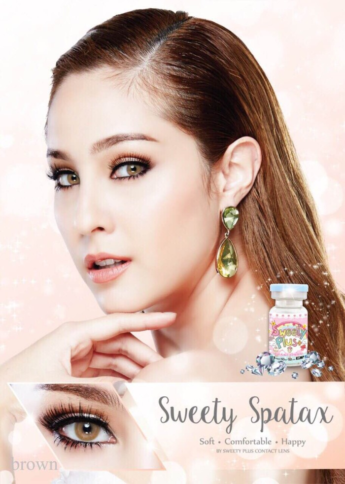 Jual Softlens SPATAX Only FREE ONGKIR SoftlensMurahKu Source · Promo Acessoris warna mata Softlens Sweety Spatax Brown Coklat