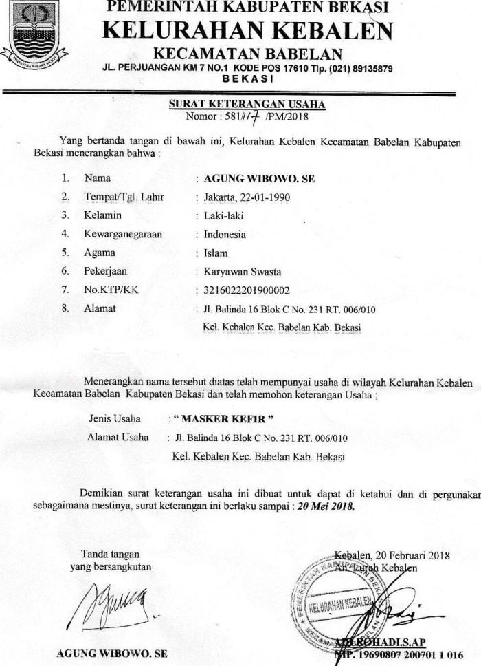 Jual Masker Kefir 100 Original Dki Jakarta Mister Shop83 Tokopedia