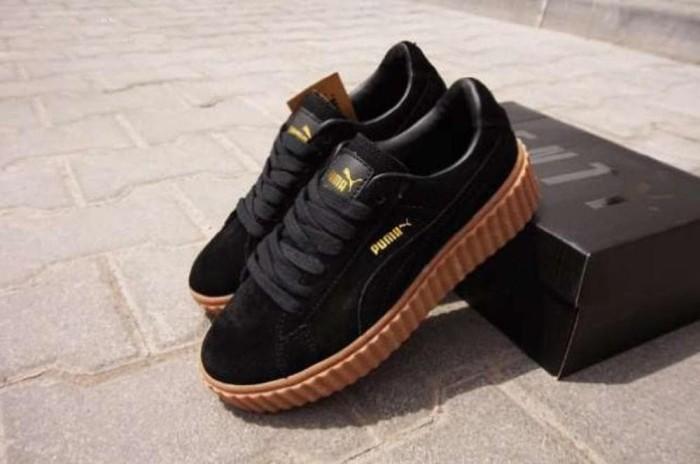 Sepatu Puma Fenty Creepers Rihanna Hitam Sol Gum - Daftar Harga ... dc82ccba5d