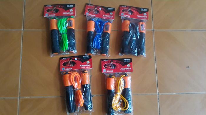 harga Tali skipping kansa murah (skipping rope with jump counter) Tokopedia.com