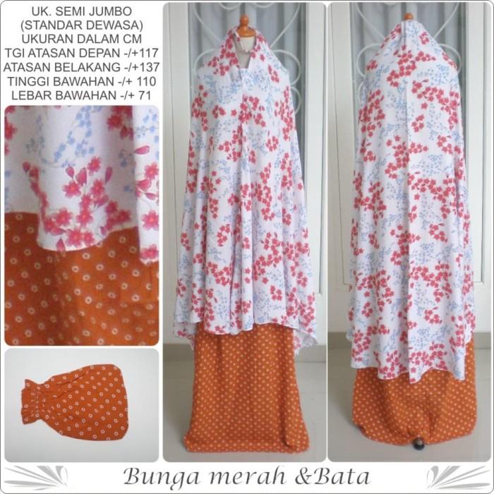 harga Mukena bali dewasa katun rayon motif bunga dan polkadot kecil 397b Tokopedia.com