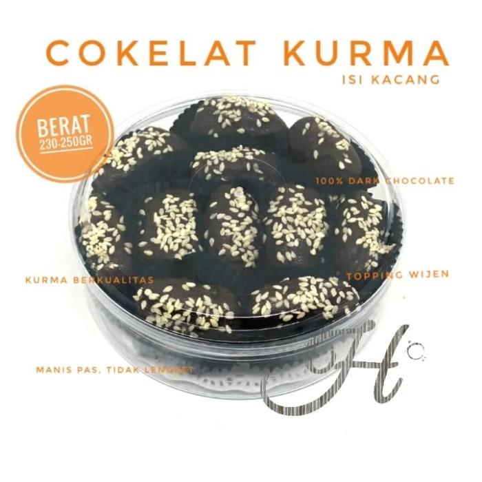 harga Coklat kurma isi kacang 230-250 gram Tokopedia.com