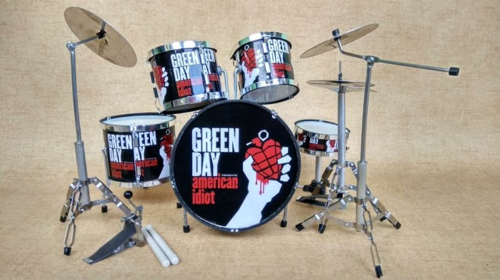 harga Miniatur drum tre cool green day signature (2) Tokopedia.com